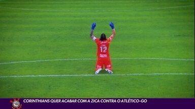 Corinthians quer acabar com a zica contra o Atlético-Go hoje pela Copa do Brasil - Corinthians quer acabar com a zica contra o Atlético-Go hoje pela Copa do Brasil
