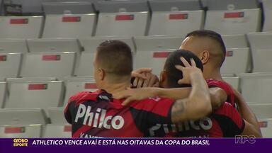 Athletico vence e se classifica na Copa do Brasil - Furacão eliminou o Avaí com um golaço de Vitinho na Arena da Baixada