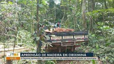 Semma apreende 30m³ de madeira beneficiada em Oriximiná - Operação ambiental ocorreu nos últimos dias.