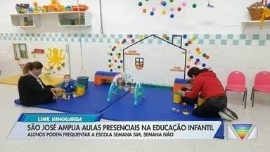 São José dos Campos amplia aulas presenciais da educação infantil - Confira a reportagem exibida pelo Link Vanguarda.