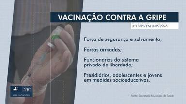 Ji-Paraná abre vacinação contra a gripe para novos grupos - Pessoas com comorbidades acima de 18 anos podem se vacinar.