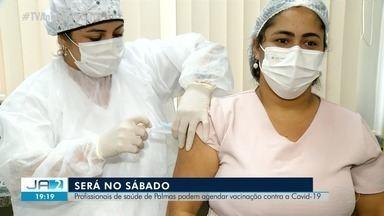 Palmas retoma vacinação dos profissionais da saúde; saiba mais - Palmas retoma vacinação dos profissionais da saúde; saiba mais