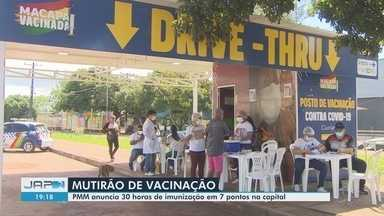 Macapá vai realizar 30 horas de imunização contra Covid-19 em 7 pontos da capital - Macapá vai realizar 30 horas de imunização contra Covid-19 em 7 pontos da capital