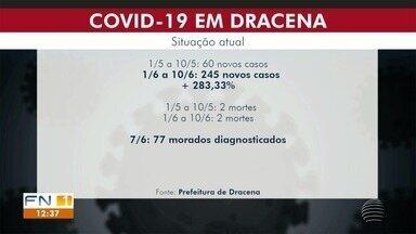 Dracena volta a registrar alta nos casos de Covid-19 - Em 10 dias, mais 245 moradores foram diagnosticados com a doença.
