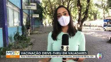 Saiba como será distribuída a nova remessa de vacinas em Governador Valadares - Confira os públicos que receberam os imunizantes.