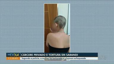 Mulher tem cabelo raspado durante tortura em Sarandi - Um homem também foi esfaqueado.