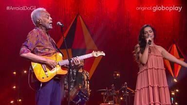 Gilberto Gil e Juliette cantam 'Asa Branca' - Confira!