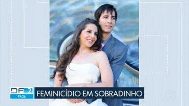 Morador de Sobradinho é preso depois de matar a mulher em Sobradinho - Segundo a polícia, Melissa Carvalho dos Santos Gomes era psicóloga, tinha 41 anos e foi mais uma vítima de feminicídio no DF.