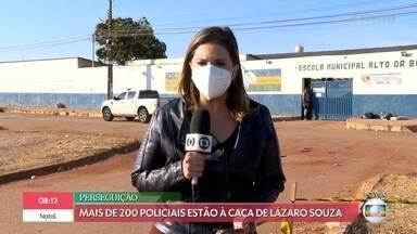 Buscas por Lázaro Barbosa chegam a 11 dias no interior de Goiás - Repórter conta as últimas informações sobre a caçada ao criminoso no povoado de Girassol