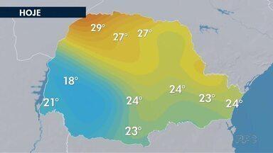 Fim de semana será de temperaturas agradáveis na região de Curitiba - A temperatura fica entre 13° e 23°