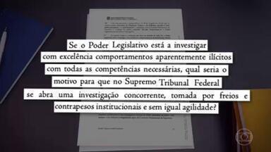 PGR pede ao STF para aguardar fim da CPI antes de decidir sobre notícia-crime contra Bolsonaro - De acordo com o vice-procurador-geral da República, Humberto Jacques de Medeiros, as investigações seriam concorrentes.