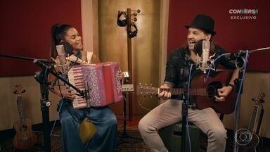 Lucy Alves e Tato da Falamansa cantam 'Embrasa' - Confira
