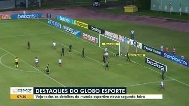 Veja a participação do Globo Esporte no BDA desta quinta-feira (1º) - Fique por dentro das principais noticias do mundo dos esportes.