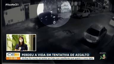 Mulher é morta ao reagir a assalto no Bom Jardim - Saiba mais em g1.com.br/ce
