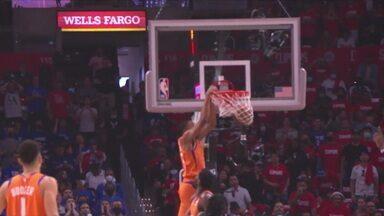 Com 41 pontos de Chris Paul, Phoenix Suns é o primeiro finalista da NBA - Com 41 pontos de Chris Paul, Phoenix Suns é o primeiro finalista da NBA