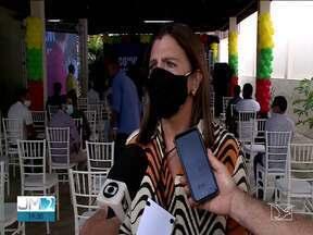 Ex-governadora Roseana Sarney é eleita presidente do MDB no Maranhão - Olavo Sampaio acompanhou a cerimônia.