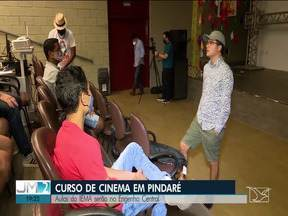 Curso de cinema é oferecido no Engenho Central de Pindaré-Mirim - Aulas foram oferecidas pelo IEMA.