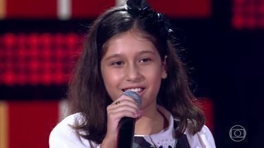 Sophia Lara canta 'Cobaia' - Confira os comentários dos técnicos