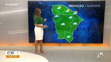 Previsão do Tempo para o fim de semana com Bárbara Sena - Saiba mais em: g1.com.br/ce