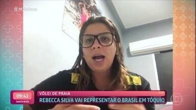 Rebecca Silva será uma das 4 atletas brasileiras do vôlei de praia em Tóquio - Confira