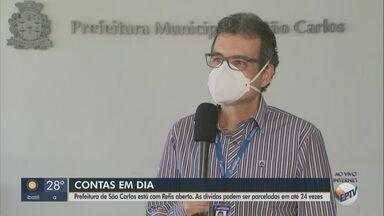 Refis em São Carlos parcela dívidas em até 24 vezes - Secretário da Fazenda explica como aderir.