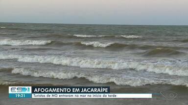 Homem se afoga e desaparece no mar de Jacaraípe, na Serra - Assista a seguir.