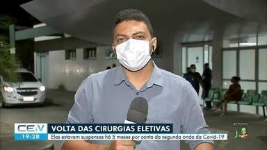 Secretaria da Saúde recomenda volta de cirurgias eletivas - Confira mais notícias em g1.globo.com/ce