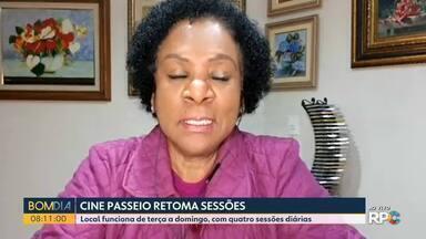 Cine Passeio retoma sessões em Curitiba - Local funciona de terça a domingo, com quatro sessões diárias.
