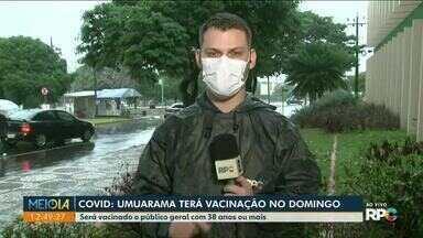 Regionais de saúde do Noroeste receberam mais de 11 mil doses da vacina contra covid-19 - Paraná recebeu mais de 235 mil doses do imunizante.