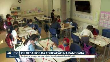 Pandemia dificultou acesso à educação nas periferias - Maioria das crianças de Paraisópolis e que estudam em escolas públicas, não conseguiram acessar as plataformas de ensino remoto das escolas.