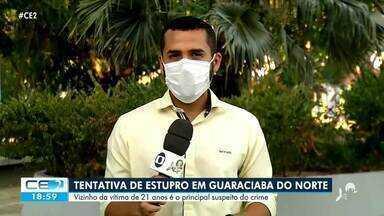 Tentativa de estupro em Guaraciaba do Norte - Confira mais notícias em g1.globo.com/ce