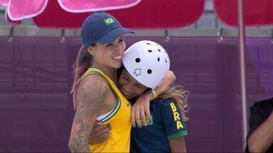 Olimpíadas: Rayssa Leal, a Fadinha, conquista medalha de prata no skate street   globoesporte / olimpíadas   ge