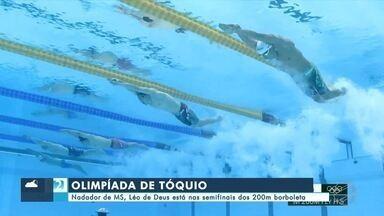 Nadador de MS, Léo de Deus está nas semifinais dos 200m borboleta - Nadador de MS, Léo de Deus está nas semifinais dos 200m borboleta