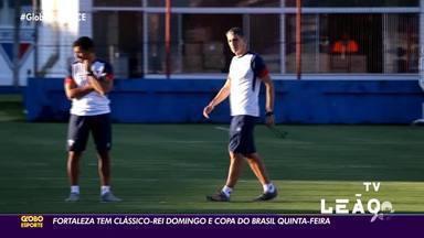 Fortaleza tem Clássico-Rei no domingo e Copa do Brasil na quinta-feira - Fortaleza tem Clássico-Rei no domingo e Copa do Brasil na quinta-feira