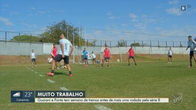 Guarani avança em negociação por Todinho, e Ponte se prepara para enfrentar o Botafogo - Clubes de Campinas (SP) tentam melhorar desempenho na Série B do Brasileirão.