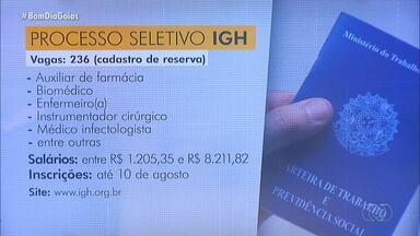 Fique ligado em outras vagas de emprego em Goiás - Organização Social está com processo seletivo aberto; veja como participar.
