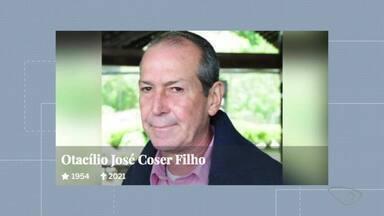 Empresário Otacílio José Coser Filho morre aos 67 anos em SP - Assista a seguir.