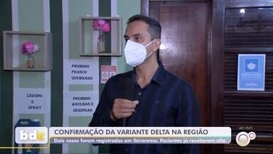 Prefeitura anuncia dois casos da variante delta do coronavírus em Ibirarema - A Prefeitura de Ibirarema (SP) anunciou neste sábado (7) o registro de dois casos da variante delta do coronavírus na cidade.