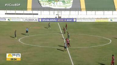Paragominas empata na Arena Verde e chega a cinco jogos sem vitória na Série D - Paragominas empata na Arena Verde e chega a cinco jogos sem vitória na Série D