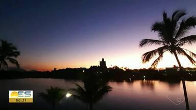 Telespectadores enviam fotos do amanhecer no ES - Veja a seguir.
