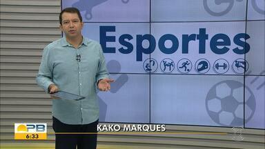 Kako Marques traz as notícias do esporte no Bom Dia Paraíba desta segunda-feira (09.08.21) - Fique bem informado, torcedor paraibano