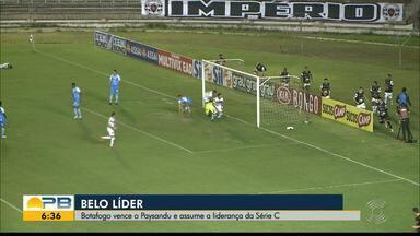 Botafogo-PB 2 x 1 Paysandu, pela rodada #11 da Série C - Belo vence o Papão de virada e se isola na liderança do Grupo A