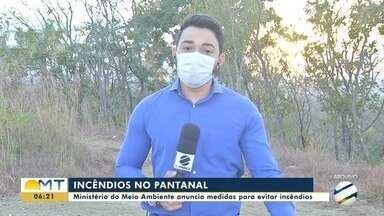 Ministério do Meio Ambiente anuncia medidas para prevenir incêndios no Pantanal - Ministério do Meio Ambiente anuncia medidas para prevenir incêndios no Pantanal