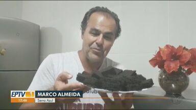 Veja a dica de receita de bolo de chocolate no quadro 'Sabor de Casa' - A dica é do Marco Almeida, de Serra Azul (SP).