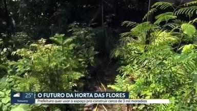 Polêmica envolvendo a Horta das Flores na Mooca - Prefeitura quer usar o espaço pra construir cerca de 3 mil moradias