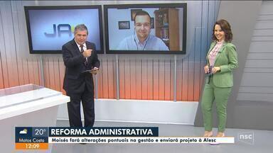 Ânderson Silva comenta reforma administrativa em Santa Catarina - Ânderson Silva comenta reforma administrativa em Santa Catarina