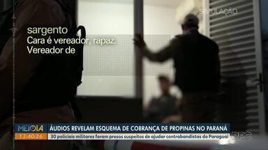 Polícia prende mais dois PMs suspeitos de ajudar contrabandistas na fronteira com Paraguai - Investigação mostra cobrança de propina para liberação de cargas e desvio de mercadorias.