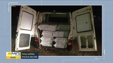 Polícia prende homem suspeito de participação em furto de carga em Caetanópolis - Cidade fica a 100km de Belo Horizonte, na Região Central do estado