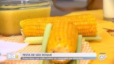 Festa do Milho acontece em São Roque e Itapetininga neste fim de semana - A tradicional Festa do Milho de São Roque (SP) acontece neste fim de semana. Em Itapetininga (SP), ainda por causa da pandemia, mais uma vez todas as delícias de milho vão ser vendidas por drive-thru.