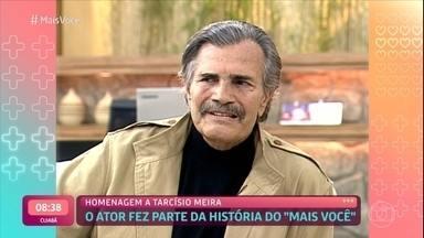 Ana Maria Braga relembra participação de Tarcísio Meira no 'Mais Você' em 2005 - Na época, Tarcísio falou sobre o sucesso de seu personagem na novela 'Irmãos Coragem' e contou curiosidades sobre as gravações